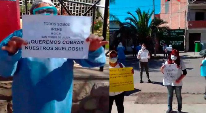 Jujuy: nuevo reclamo del personal de salud