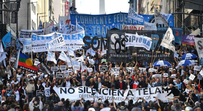 La disputa por (y para) la comunicación: decreto 690, condiciones de trabajo y libertad de expresión