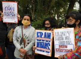 Paraguay: detienen a militante feminista que se manifestó contra el asesinato de las niñas a manos del ejército