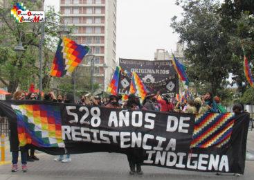 Jujuy: Gran movilización en el marco del 12 de octubre