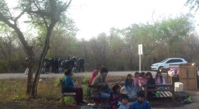 Salta: desalojaron a otra comunidad indígena pese a que la ley lo prohíbe