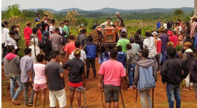 Complicidad policial en ilegal intento de desalojo de una comunidad mbya