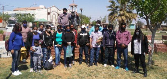 Lagunas de Guanacache: hubo acuerdo en el Juzgado de Paz de Sarmiento