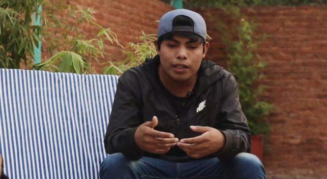 """""""Yo soy wichi y hago free"""", las rimas y denuncias al ritmo del freestyle de Bandiel"""