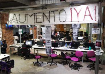 """Asamblea de Página/12: repudio a un """"acuerdo"""" demoledor para los salarios"""