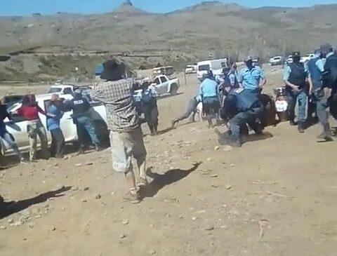 Repudio a la represión a las Asambleas del agua del norte neuquino