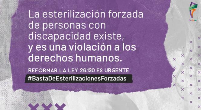 Basta de esterilizaciones forzadas a personas con discapacidad