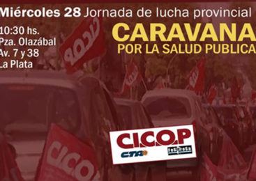 Jornada de lucha y caravana de CICOP