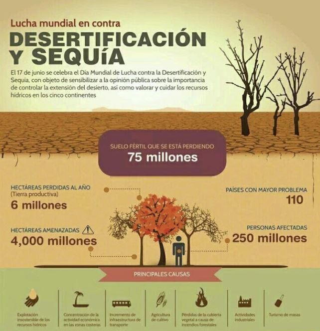 desiertos nivel mundial