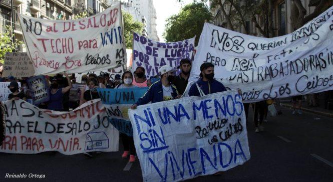 El Encuentro Memoria Verdad y Justicia marchó por Facundo y Guernica