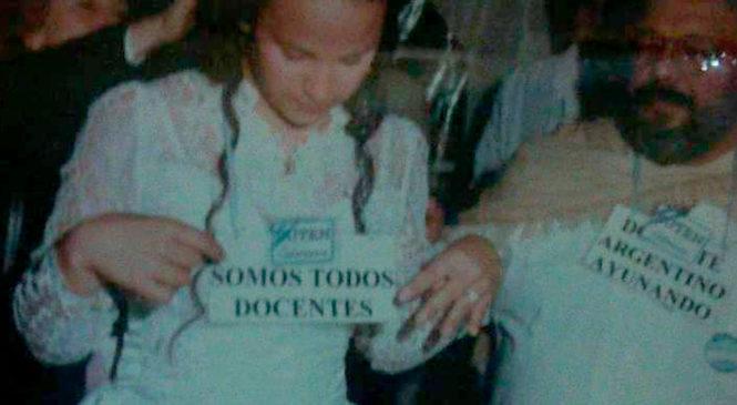 Eva Serrano: de festejar los 15 en la Carpa Blanca a cambiar desde adentro un sindicato
