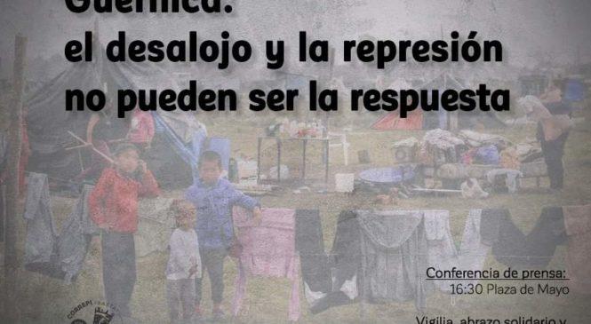Guernica: el desalojo y la represión no pueden ser la respuesta