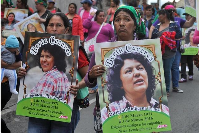 Honduras-Berta Càceres