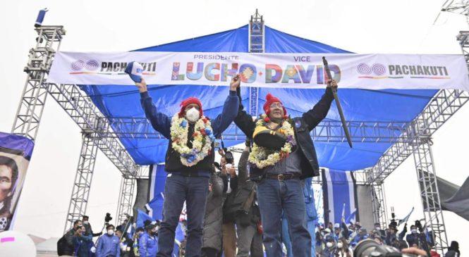 Luis Arce, un Chuquiago boy electo presidente