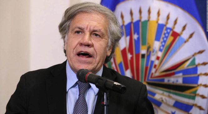 Los Organismos de Derechos Humanos lo exigimos: Luis Almagro debe renunciar para que la OEA no cometa injerencia política como en Bolivia