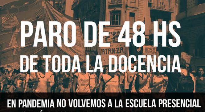 Paro docente en la Ciudad de Buenos Aires