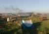 Violento desalojo de la Bonaerense en Rafael Castillo