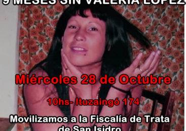 Movilización a la Fiscalía de Trata de San Isidro
