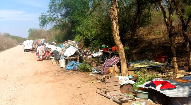 Un nuevo desalojo: comunidad wichí Yokwespehen en Tartagal