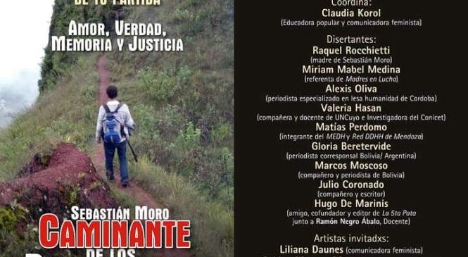 Homenaje, memoria y reclamo de justicia por Sebastián Moro