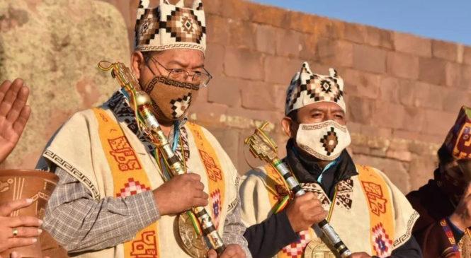 La indianidad nuevamente presente en el Gobierno de Bolivia
