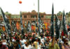 Acto del Partido Obrero en Plaza de Mayo contra el FMI