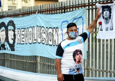 Despedida a Diego Maradona