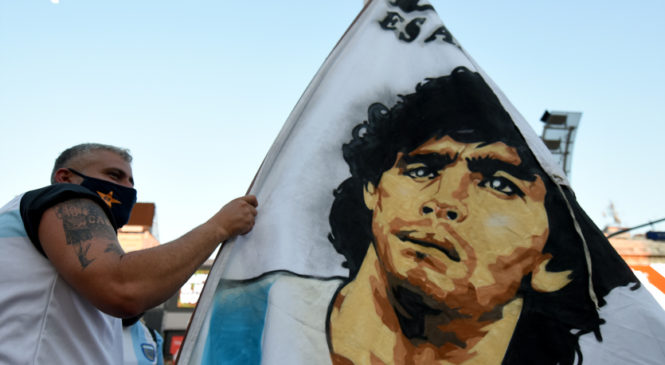 Con pandemia y sin Maradona, el primer año de Alberto