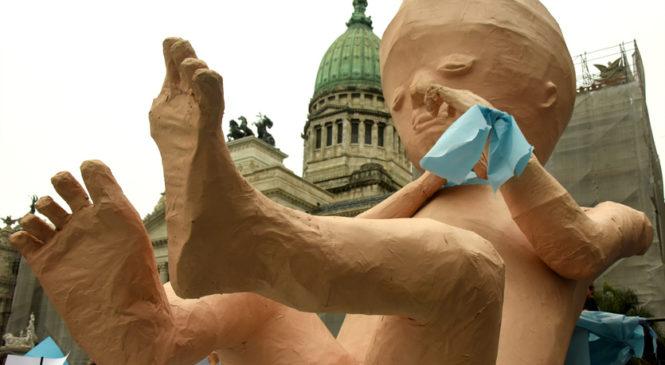 Marcharon al Congreso a favor del aborto clandestino