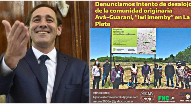 Municipalidad de La Plata quita tierras a comunidad Ava Guaraní para dárselas al Club Gimnasia y Esgrima