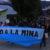 Paro ambiental contra la megaminería en Chubut