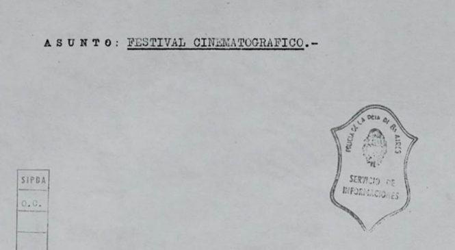 Los archivos de la DIPBA se verán en el Festival de cine de Mar del Plata