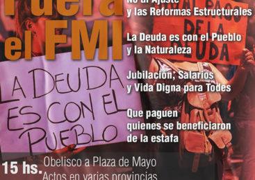"""Jornada Nacional de Lucha """"Fuera el FMI"""""""