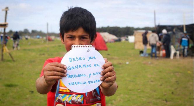 Infancias desalojadas: ¿cómo cuidarlas frente a la violencia del Estado?