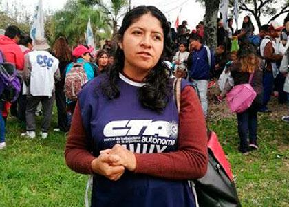 Jujuy: repudian el ataque al hogar de una dirigenta de la CTA Autónoma