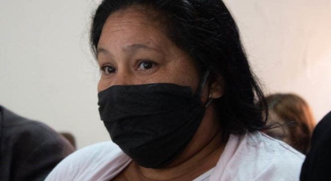 "Norita Cortiñas: ""Vamos a seguir luchando hasta que María quede libre"""