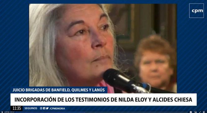 """""""No voy a parar"""": el testimonio clave de Nilda Eloy que volvió a resonar frente al TOF 1 de La Plata"""