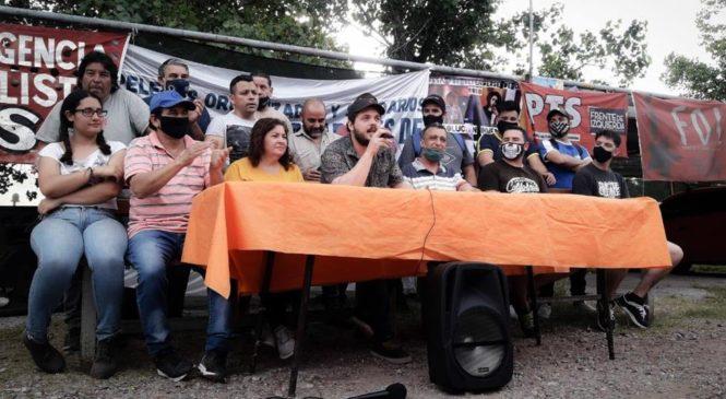 Lucha y organización: Plenario de la Coordinadora de Trabajadores de Zona Sur