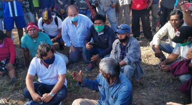 La marcha indígena llegará a Salta en colectivos