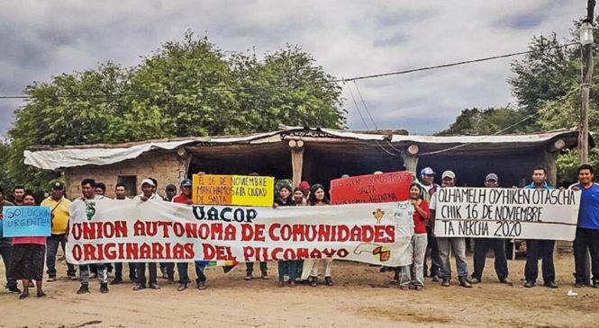 Histórica marcha indígena en Salta