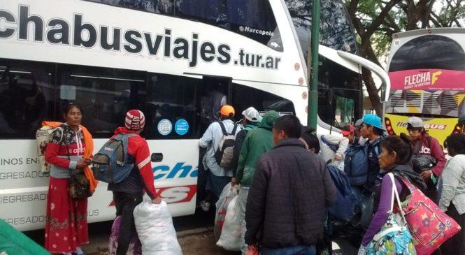 Se levantó la protesta de las comunidades originarias en la ciudad de Salta