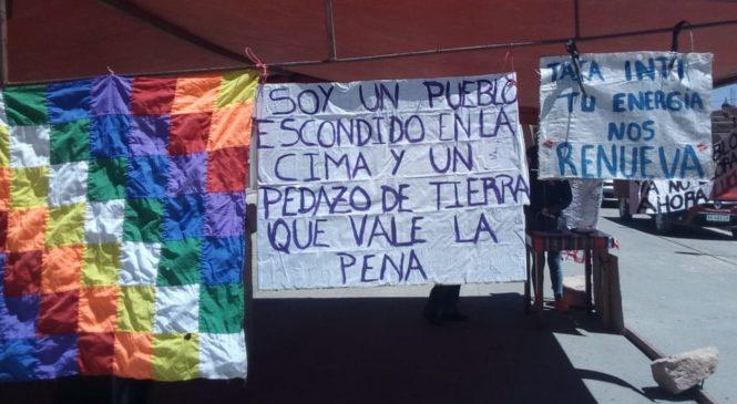 Salta: comunidades se oponen a la reforma de la ley de regalías mineras