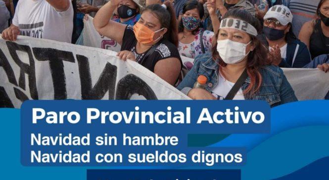 Paro activo de municipales de Jujuy