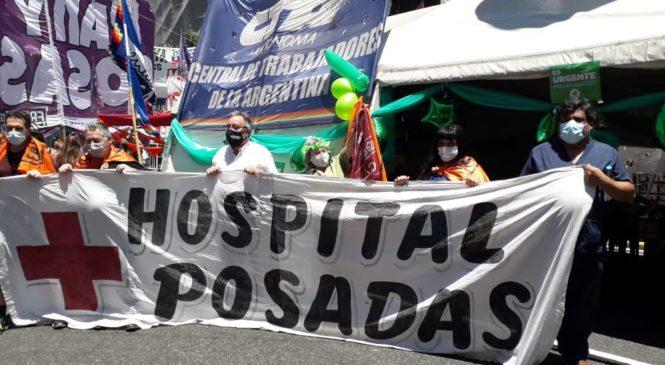 """Se realizó la 8ª jornada nacional de lucha: """"La Salud es un Derecho Humano"""""""