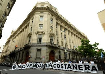 No a la venta de los terrenos de la Costanera