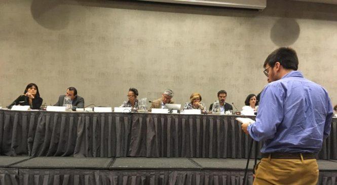 APDH presenta informe a la CIDH por violaciones a los derechos humanos en Chile