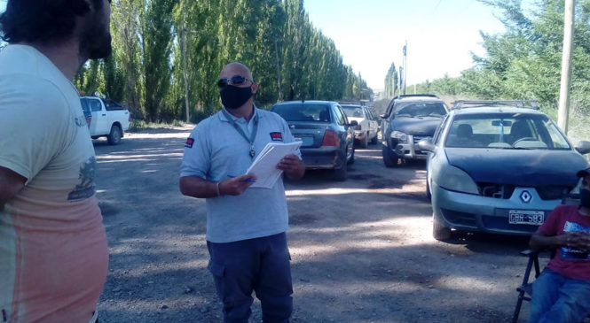 Productores toman una locación de YPF tras el regreso del fracking a Allen