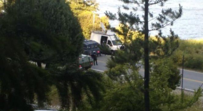 Tensión y disparos en Villa Mascardi durante militarizada diligencia judicial