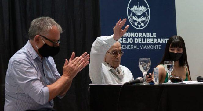 General Viamonte: el doctor Haroldo Coliqueo fue declarado Ciudadano Ilustre