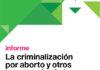 La criminalización por aborto y otros eventos obstétricos en la Argentina